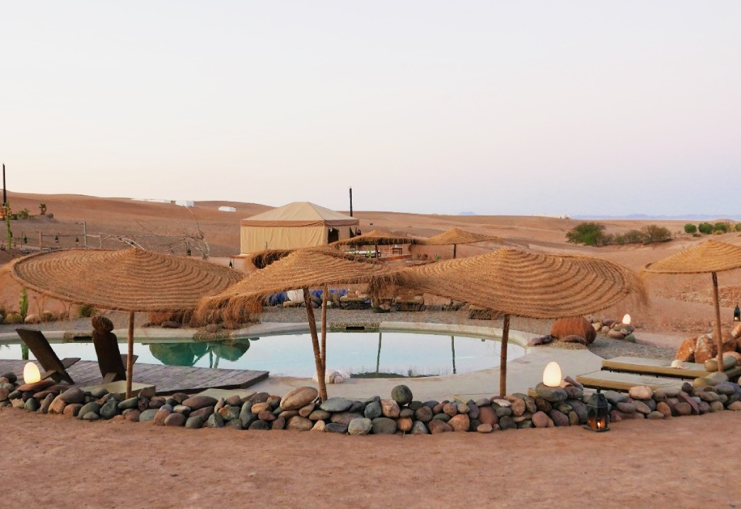 A lover of the desert, Inara Camp by Vincent Jaquet